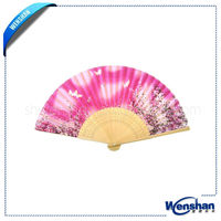 chinese wood hand fans