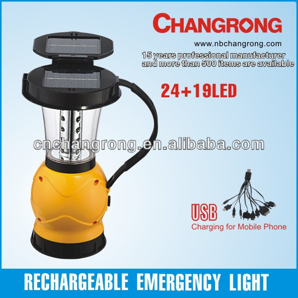 rechargeable portable lantern solar energy torch emergency straw led flashlight