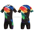 Summer new custom cheap colorful men cycling clothing