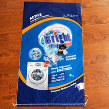 Customized design printing detergent plastic bag export to Dubai and Africa