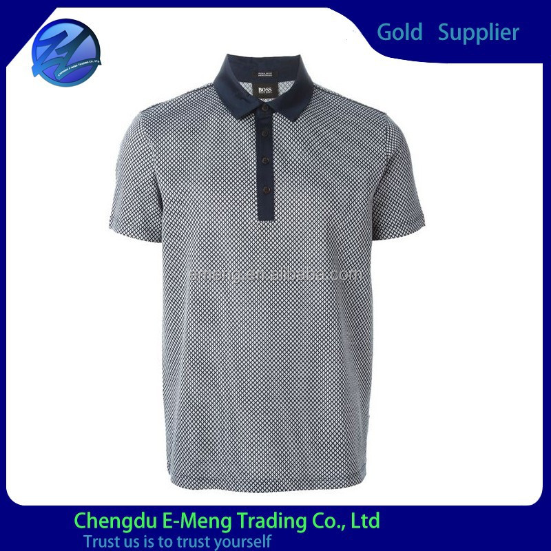 Hot sale classic polo-neck men t-shirt clothing