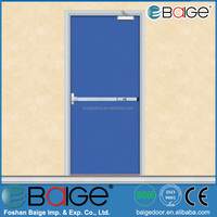 BG-F9021 steel fire door with panic push bar