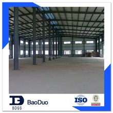 Metallic Building Steel Structure Warehouse