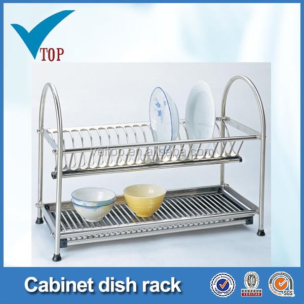 Stainless Steel Dish Drainer Stand For Kitchen Cabinet Vt-09.003 - Buy Stainless Steel Dish DrainerKitchen Cabinet StandDish Drainer Stand Product on ...  sc 1 st  Alibaba & Stainless Steel Dish Drainer Stand For Kitchen Cabinet Vt-09.003 ...