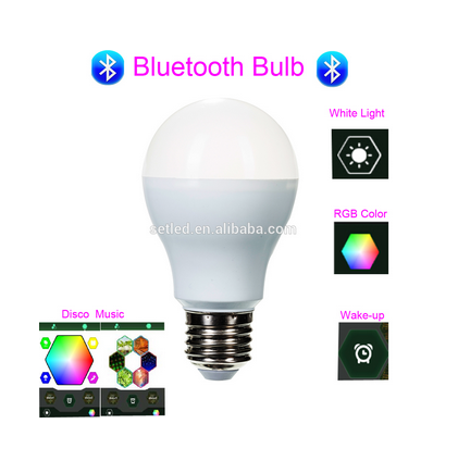 Hot sale Colorful Smart LED Light Bluetooth Bulb for IOS / Android