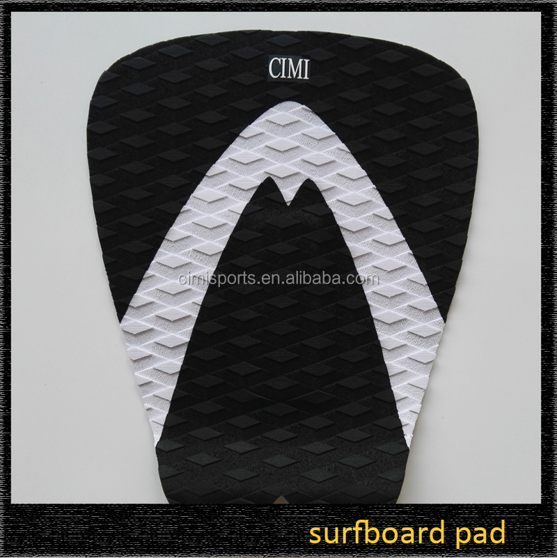 OEM high quality eva deck grip surfboard tail pad traction pad for surf
