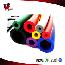 Flexible silicon rubber tube for industrial use/ extruded silicone hose for industrail and food grade