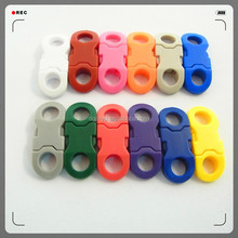 Dongguan Jinyu colorful plastic 6mm buckles for paracord necklace/6mm side release buckle/small buckles