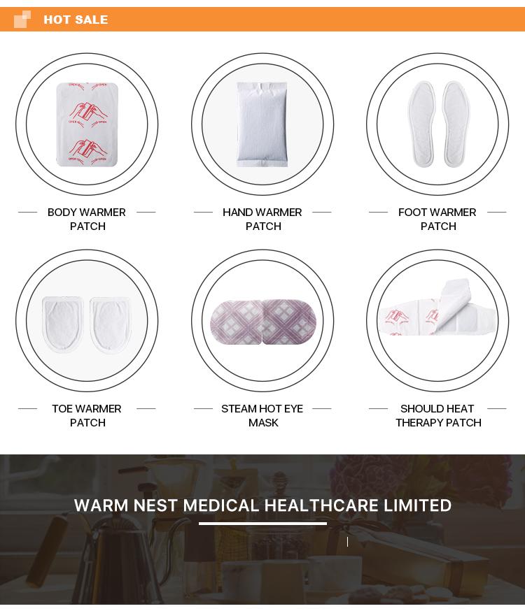 reusable body warmer heating pads
