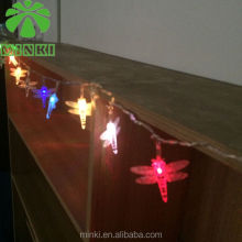 2014 MINKI 2AA various shape PVC string led/bullet shaped led light