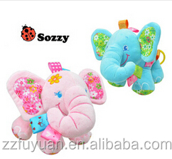 high quality sozzy brand elephant bed or chair hanging soft plush toys