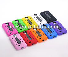 Hybrid Case Hard Gel Cover with Stand for Samsung Galaxy S4 i9500