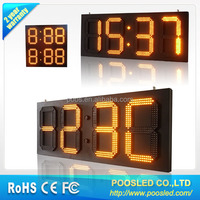 Outdoor waterproof digital led clock