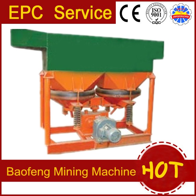 gravity equipment Jig machine for gold ore separation