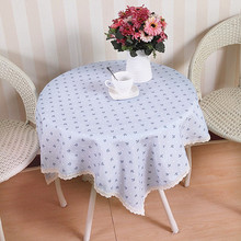 Wholesale fancy polyester table cover household table cloth