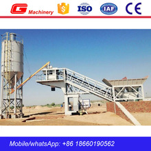 Hot sale used concrete batch plant YHZS25 mobile concrete mixing plant sale