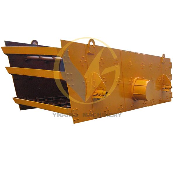 Big Capacity Stone Vibrator Screen with Electric motor