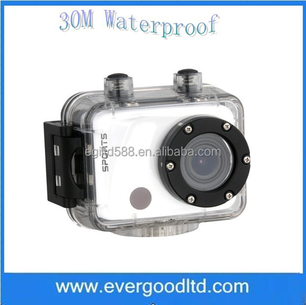 Latest F40 Sport Camera FULL HD 1080P Action Digital Video Camera With 30M Waterproof Sport Camera Mini Camcorder