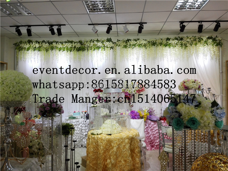wholesale romantic wedding cloth decoration wedding backdrop curtains wall decor