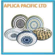 DECORATIVE PORCELAIN CERAMIC DESSERT PLATES