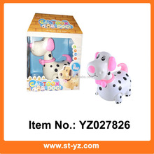 Battery Operated Dalmatian puppy electronic educational toy puppy with music & light kids educational electronic toy dog