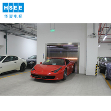two doors auto lift building parking car elevator for sale
