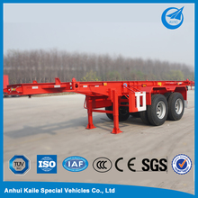 BPW Double Axle Horse Skeleton Trailer