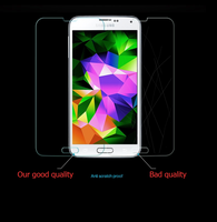 Factory direct supply privacy tempered glass screen protector For Samsung G3812\Win Pro\G3818\S3 Slim