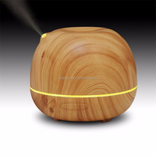 2016 IONCARE New design Wood Grain led humidifier diffuser essential oil diffuser GH2133B