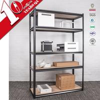 Light duty metal storage shelf/goods shelf/ steel display rack