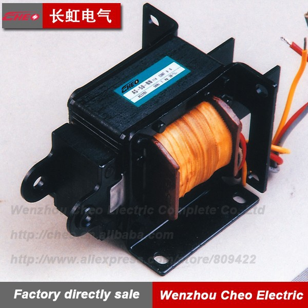 CKD solenoid AS-50 AC Push pull Solenoid