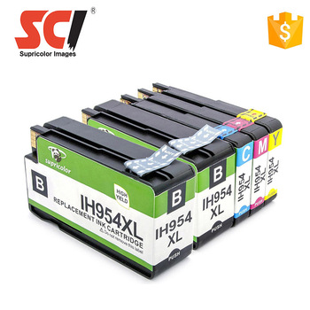 Supricolor 954 954xl 958 958xl ink cartridge compatible for HP Officejet pro 7740 8210 8710 8720 8730