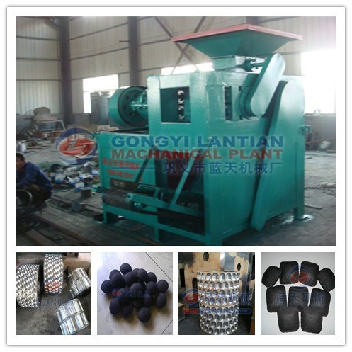 High efficiency high technology charcoal briquette press machine price
