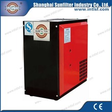 Air compressor car used compressed air with refrigerated air dryer