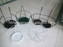 iron garden flower pot stand for sale-factory supply