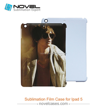 Blank sublimation 3D film case for iPad5