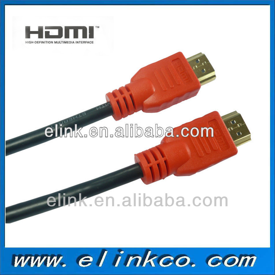 Black gold plug hdmi 2 scart for HDTV Xbox PS3