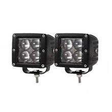 20W High Power CREE 4D Optic Dually Cubic LED Pod Lights For Truck Jeep Off-Road ATV 4WD 4x4, etc, Universal Fit