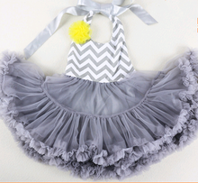 Fancy dresses for baby girls, flower girl tutu dresses european style wholesale kids tutu dress