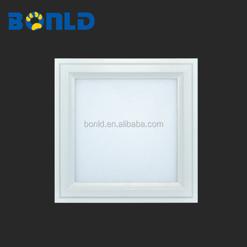 Modern led flush mounted led ceiling light,1x1 dimmable surface mounted led light panel 18watt