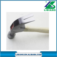carbon steel claw hammer with Wooden Handle