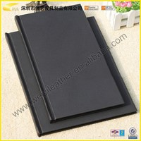 BST-CDS019 New Arrival Decorative Fashion Durable Custom Size PU Leather Restaurant Menu Book For A4 Restaurant Menu Folder