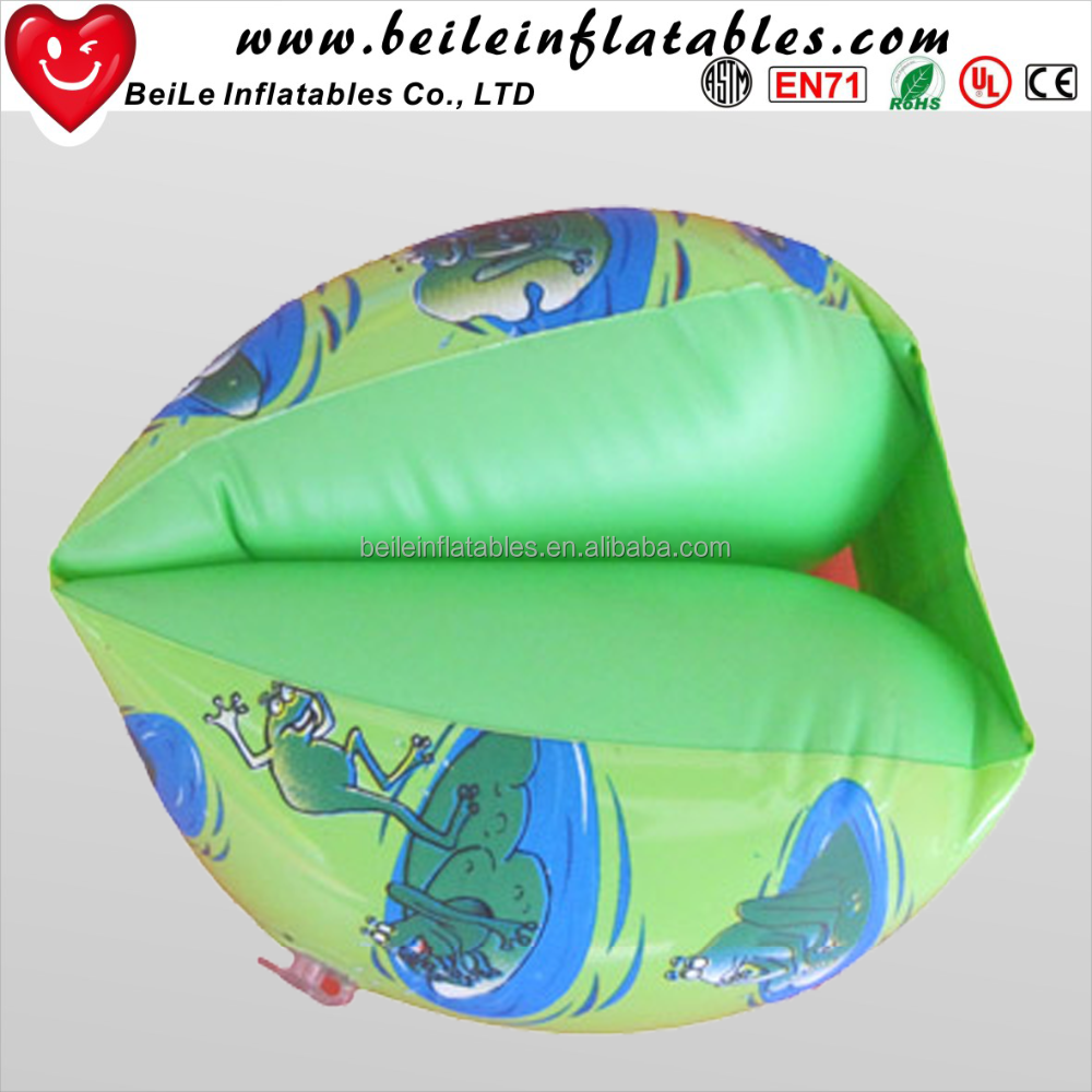 Custom made Inflatable advertising float swimming arm ring