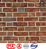 Slip preservation flexible used red clay brick