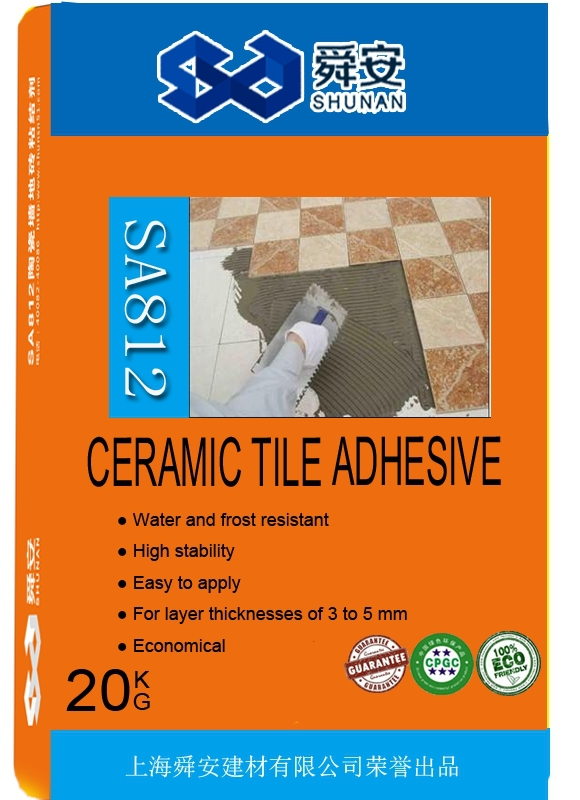 Flexible Outdoor Waterproof Ceramic Tile Adhesive