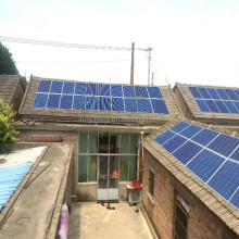 Residential use 5kw 6kw distributed pv solar system