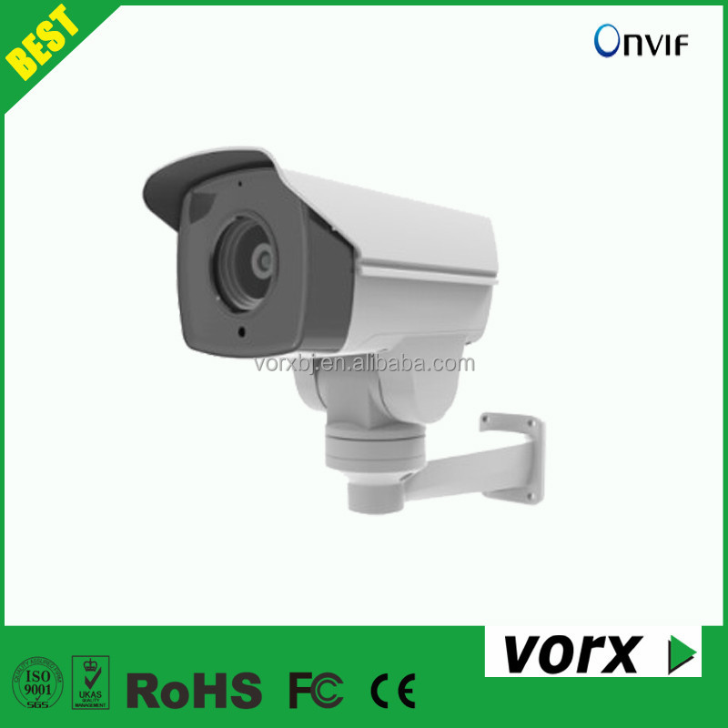 vorx latest 2.0MP 10X zoom 80m IR bullet PTZ surveillance camera