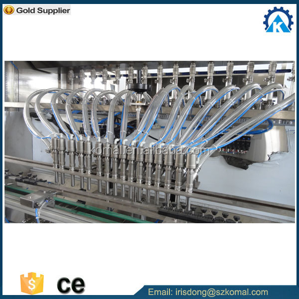 chemical usuage linear automatic lube oil filling machine