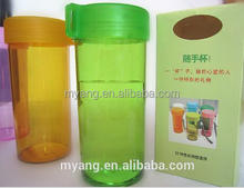 Yiwu,shenzhen wholesale 400ml good price sport plastic cups with 350ml plastic water bottle, water drinking bottle, BPA FREE