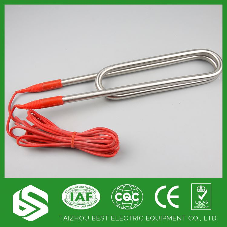 Tubular heater 500w 1000w 1500w 2000w pipe heating element